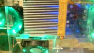 Xbox 360 tuned met licht