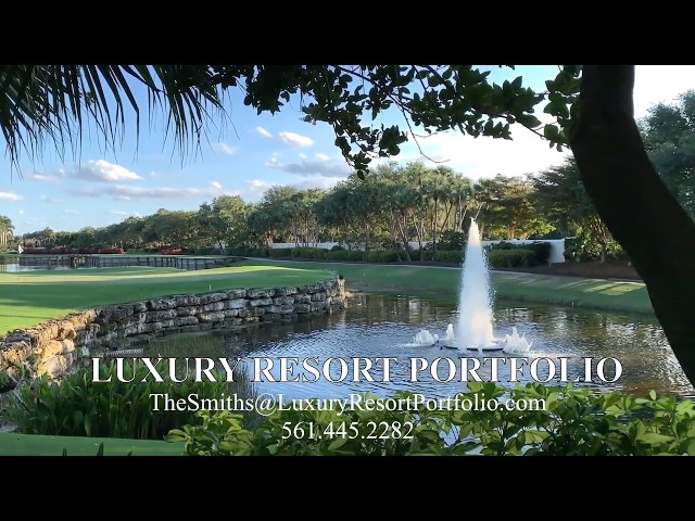 Delray Beach Golf Course Country Club Video - Luxury Resort Portfolio