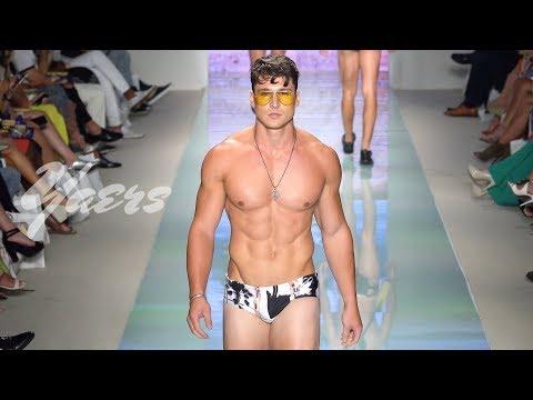 Grayson Boyd Men's Swimwear Fashion Show SS 2018 Miami Swim Week 2017