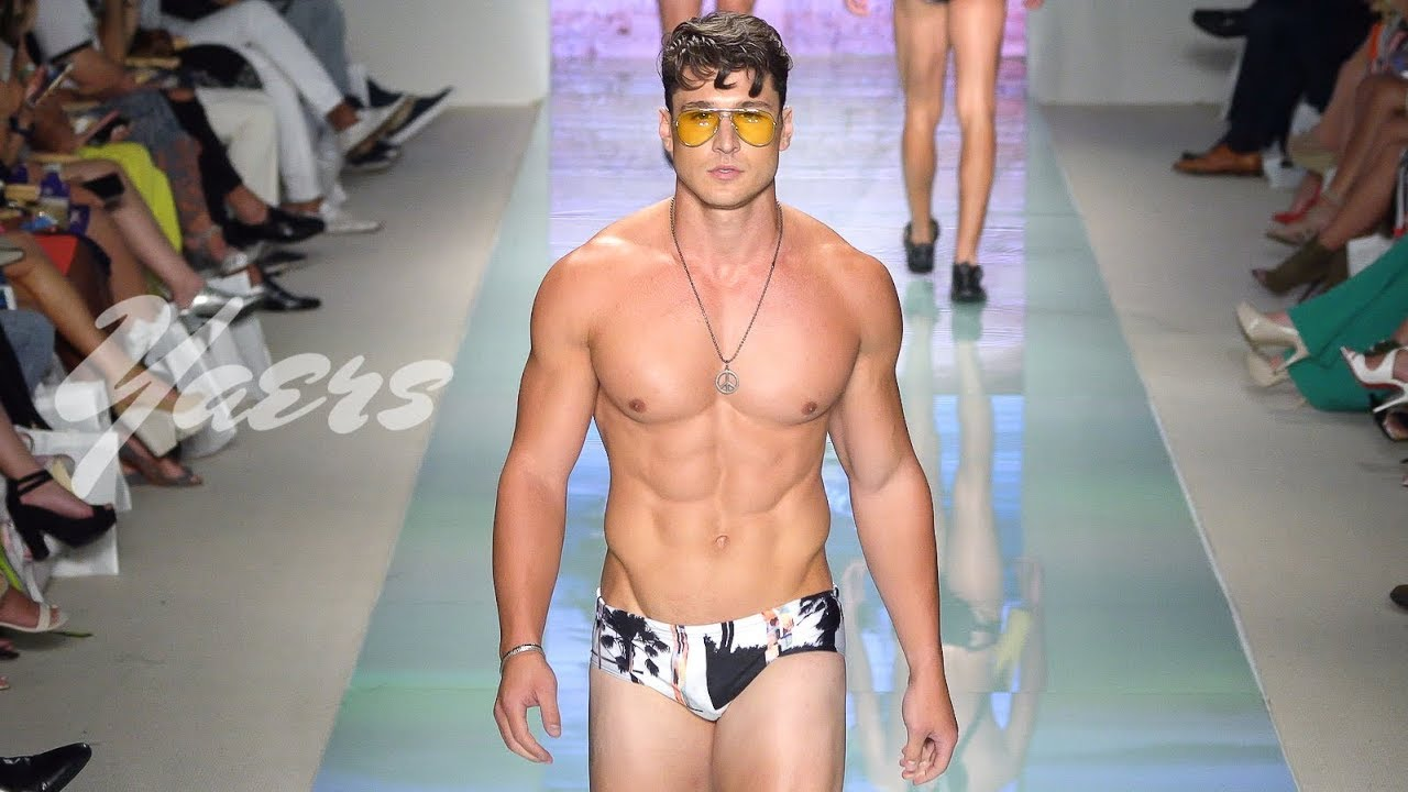 bb13c3c45e Grayson Boyd Men s Swimwear Fashion Show SS 2018 Miami Swim Week 2017