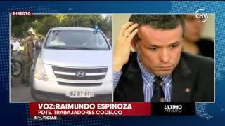 Chilevisión - EXTRA - Atentado afecta a presidente del directorio de Codelco