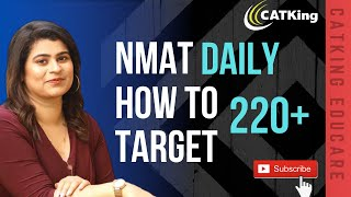 NMAT Daily: How to Increase your Scores to Target 220+