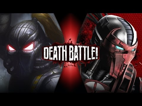 Fulgore VS Sektor (Mortal Kombat VS Killer Instinct) | DEATH BATTLE!