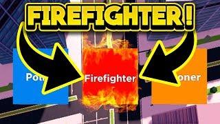 PLAYING JAILBREAK AS A FIREFIGHTER! (ROBLOX Jailbreak)