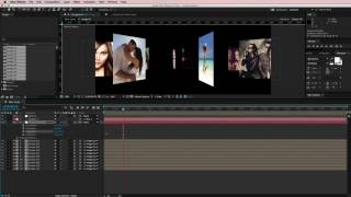 After Effects Foto Carrousel Tutorial