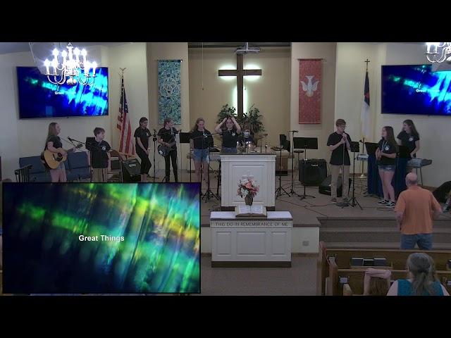 Calvary Baptist Church Sunday,  May 23, 2021