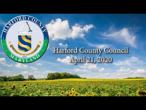 Harford County LSD 20-013 (April 21, 2020)