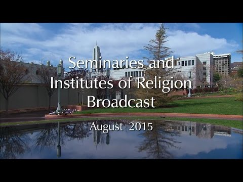 S&I Annual Training Broadcast for 2015 (2015-08-04)