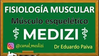 Clase 7 Fisiologia - Contraccion del musculo esqueletico