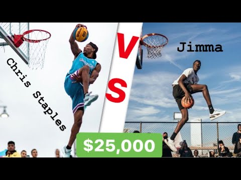 Dunk Contest On A Boat For $25,000 Jimma Vs Chris Staples