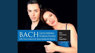 Goldberg Variations, BWV 988 (Arr. for 2 Pianos) : Variatio 18. Canone alla Sexta. a 1 Clav.