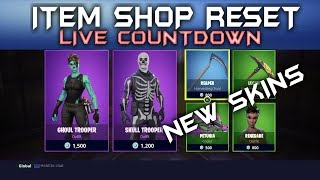FORTNITE - DAILY ITEM SHOP RESET SATURDAY ( SEPTEMBER 15TH ) NEW SKINS ARE OUT NOW LIVE COUNTDOWN