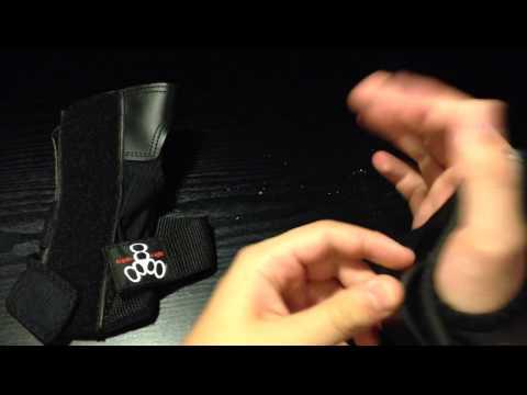 Longboard/Skateboard Wrist Guards by Triple 8