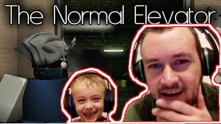 What the heck is this?!?!?!?! - Roblox - The Normal Elevator !!!