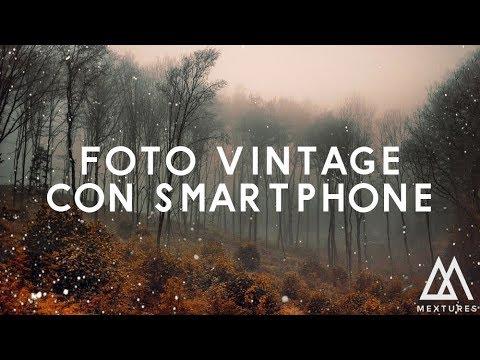 Lapp Per Fare Foto Vintage Con Lo Smartphone Mextures App Youtube