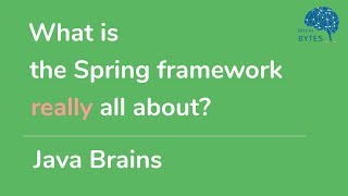 What is the Spring framework really all about?