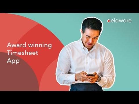 Download delawares award winning timesheet app