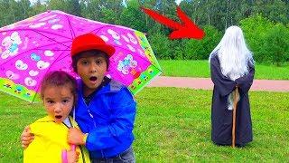 ВОЛШЕБСТВО Против GRANNY в Реальной Жизни! Для Детей Kids children