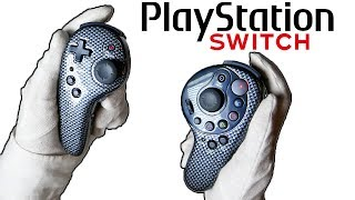 PLAYSTATION JOY-CON CONTROLLERS...? Unboxing PS3 Nintendo Switch Style Game Pads