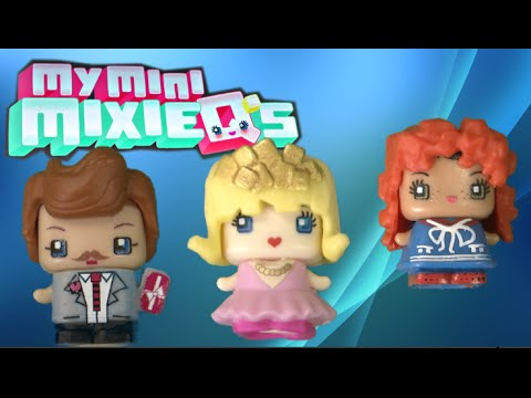My Mini Mixie Q's Series 1 Heiress, Cat Lover & Veterinarian 4-Pack from Mattel