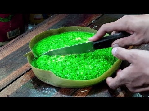 Pandan Martabak Manis & Cheese Indonesian Street Food - Wonderful Indonesia Flavours