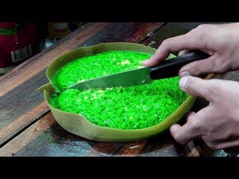 Pandan Martabak Manis & Cheese Indonesian Street Food - Wonderful Indonesia Flavours