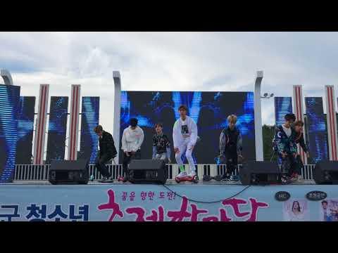 [4K] 180511 고성 청소년 축제 NCT DREAM chewing gum 전체 직캠 Full Cam