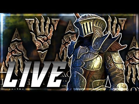 Elder Scrolls Online – PC Gameplay – The Return to Tamriel! (LIVE) [RU/EN]