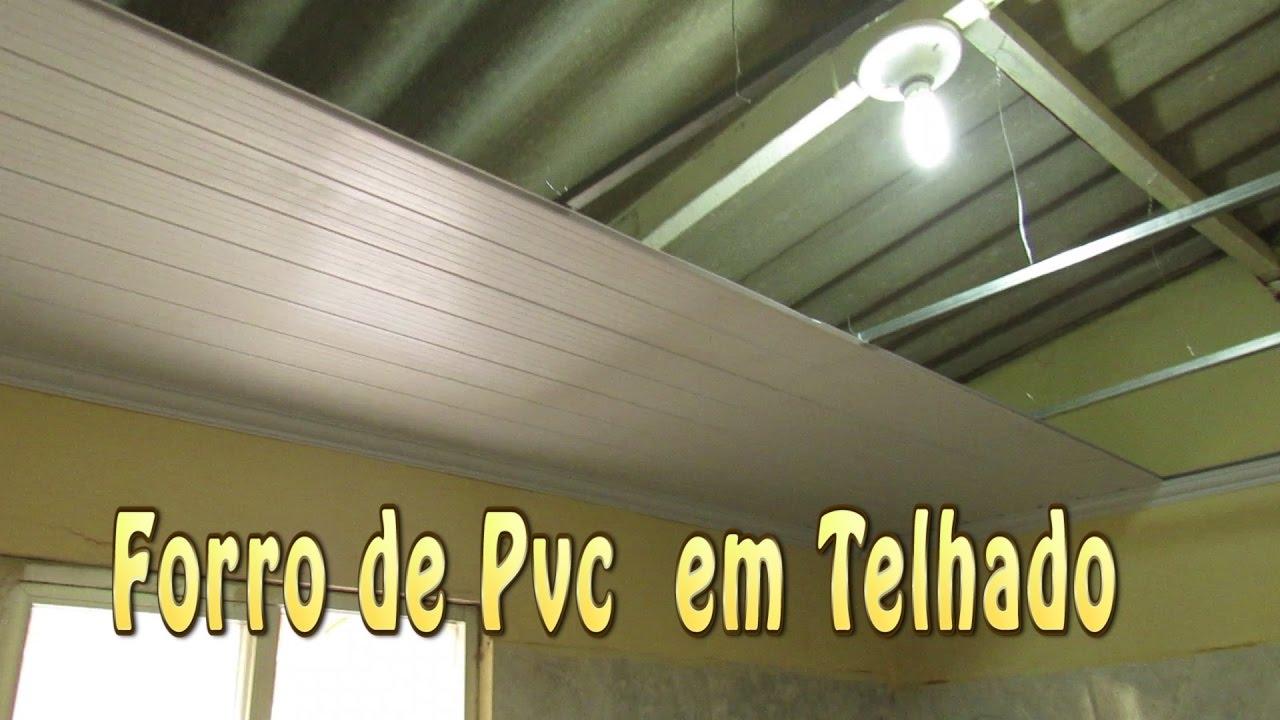 acb1e334c6df Só Forros e Divisórias - Como instalar forro PVC