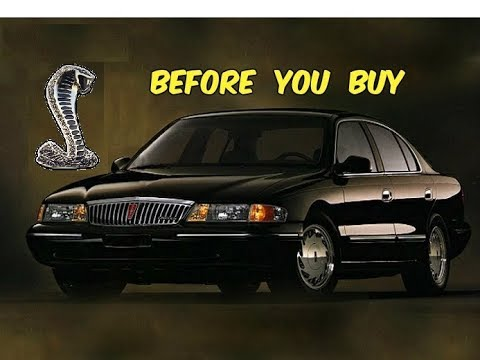 Watch This BEFORE You Buy a Lincoln Continental (1995-2002) AKA The FWD Cobra