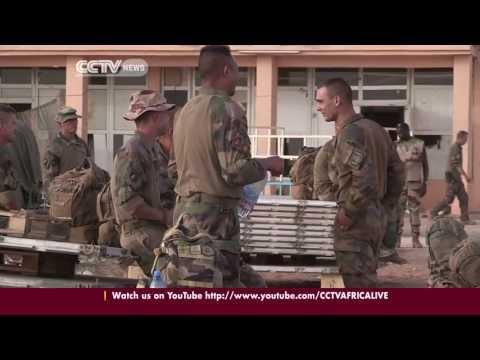 UN peacekeepers deployed to Mali