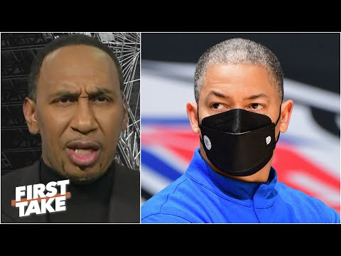 Stephen A. responds to Tyronn Lue denying the Clippers ducked the Lakers | First Take