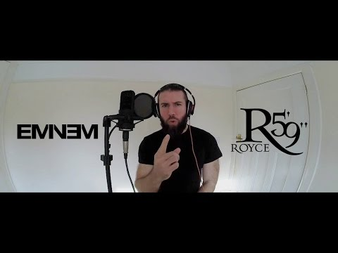 Eminem + Royce Da 5'9 - Raw Cover in 1 Take (Only viewable on PC :( sorry)