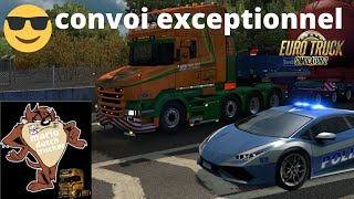 euro truck simulator 2 scania torpedo special transport vd vlist special transport