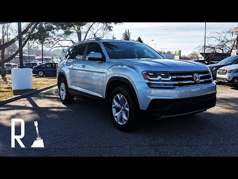 2018 Volkswagen Atlas Review: One Size Fits All