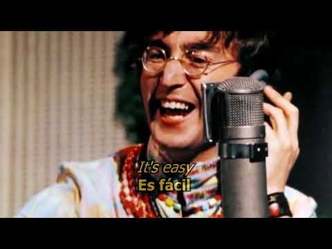 All You Need Is Love - The Beatles (LYRICS/LETRA) [Original]