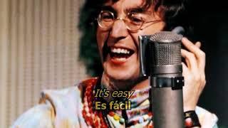 All you need is love - The Beatles (LYRICS/LETRA) [Original]
