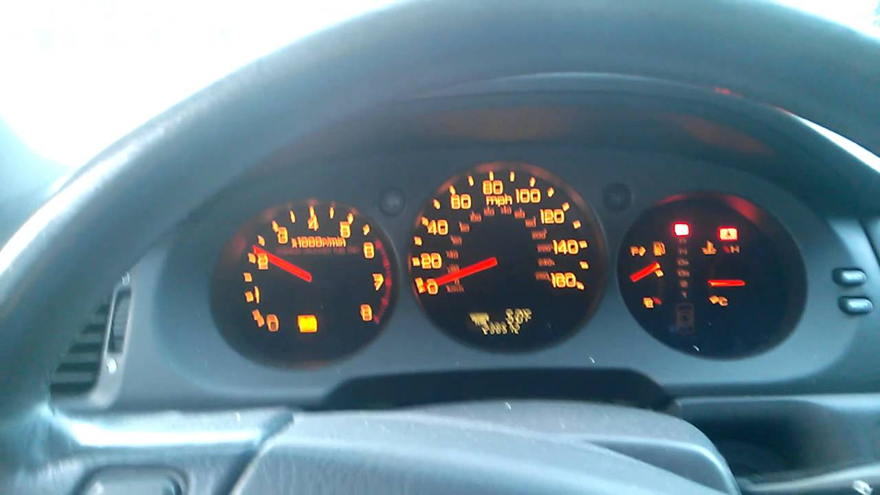 1998 Acura RL Tach issue - YouTube on