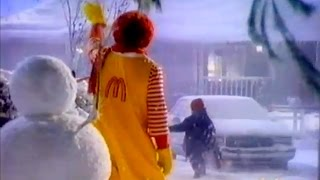 1992 CBS Holiday Commercials (during A Charlie Brown Christmas)