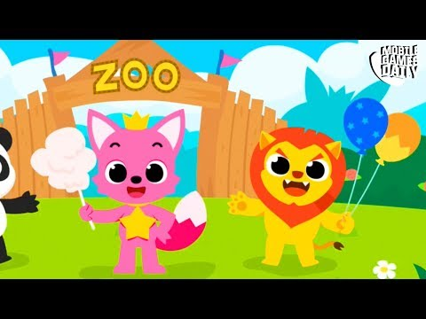 PINKFONG NUMBERS ZOO - Gameplay Part 1 (iOS Android) - Games For Kids