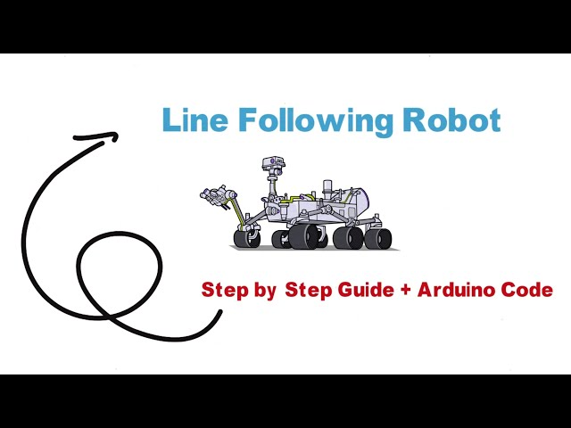 Line Following Robot | Download Arduino Code | LFR Step by Step Project Guide