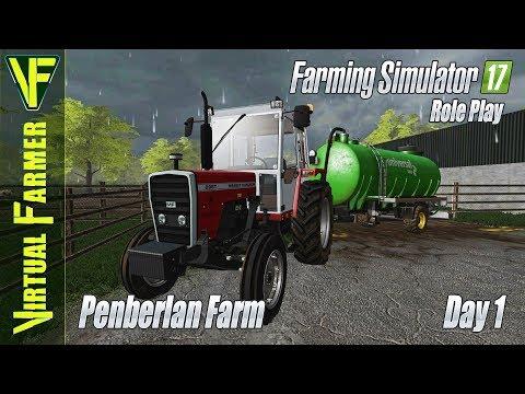 Penberlan Farm, Day 1: Welcome To The Farm   Farming Simulator 17 Role Play