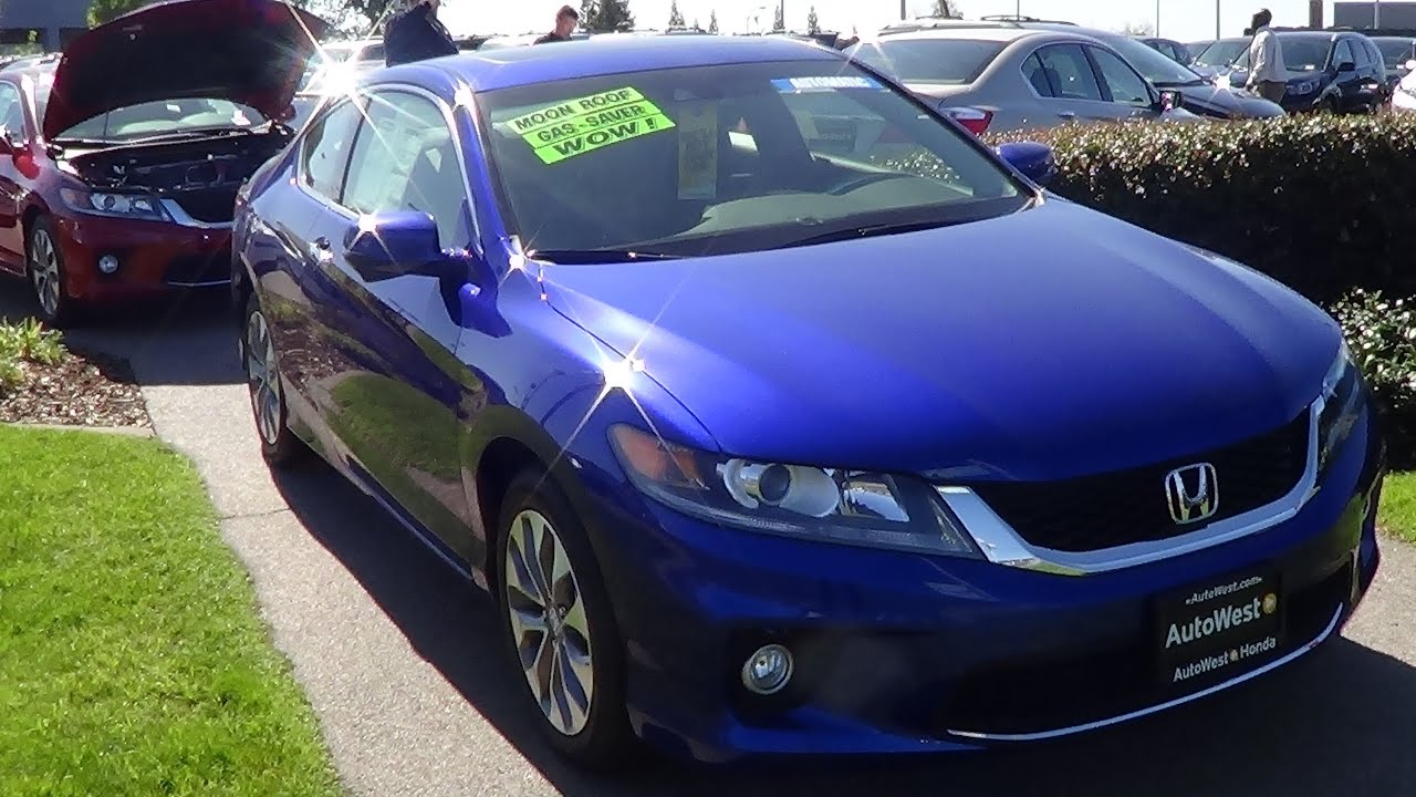 2013 honda accord coupe walkaround 2 4 l 4 cylinder youtube for Honda accord 4 cylinder