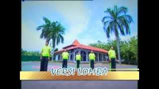 Senam Santri (2010) Versi Lomba