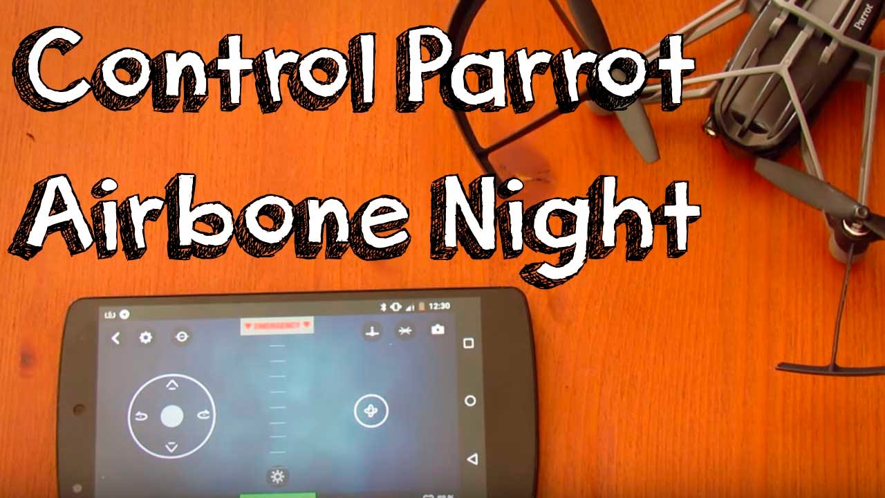 Parrot Airborne Night Drone Manual