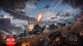 Free to Play War Thunder Multiplayer Gameplay PC