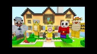 Minecraft Wii U - Nintendo Fun House - New Mansion Tour! [16] - 2018