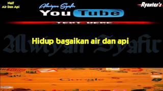 Karaoke Naif Air Dan Api