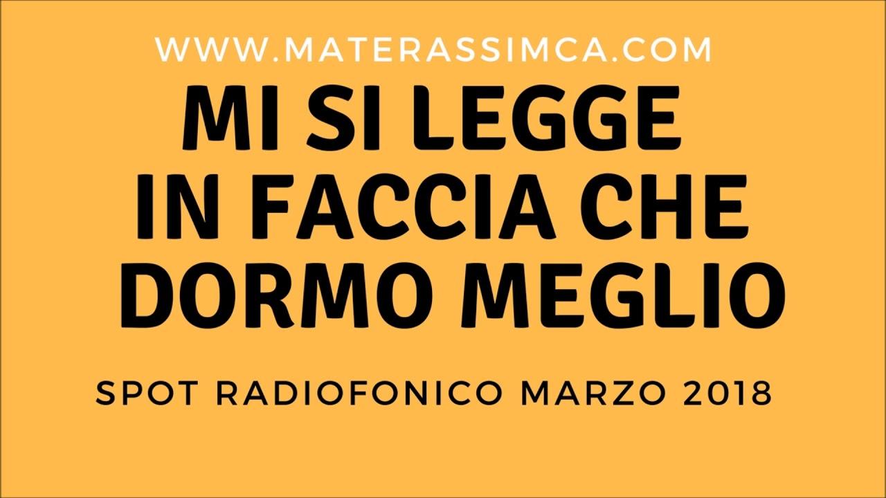 Mca Materassi Milano.Materassi Mca Milano Spot Radiofonico Youtube