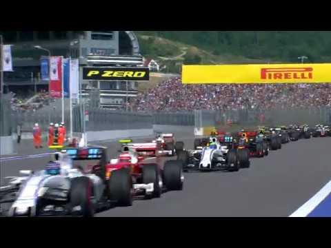 Kvyat And Vettel Clash | Russian Grand Prix 2016